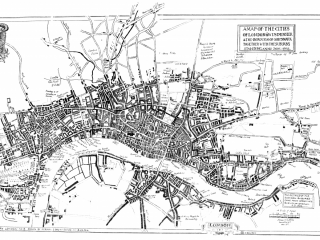 Map 3 London, 17th Century