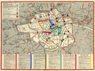 1937 coronation map