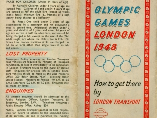 1948 Olympic Games cover