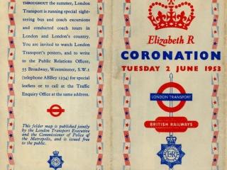 1953 coronation cover