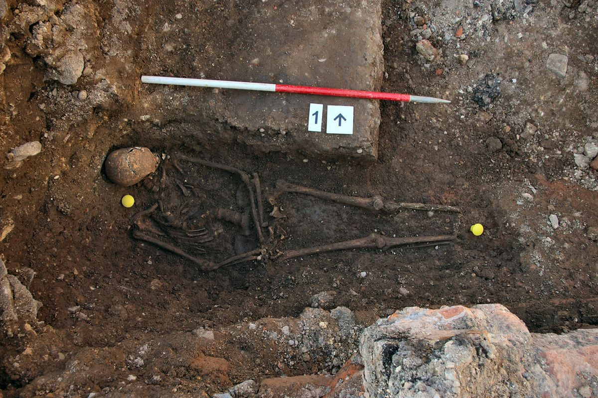 Richard III excavated