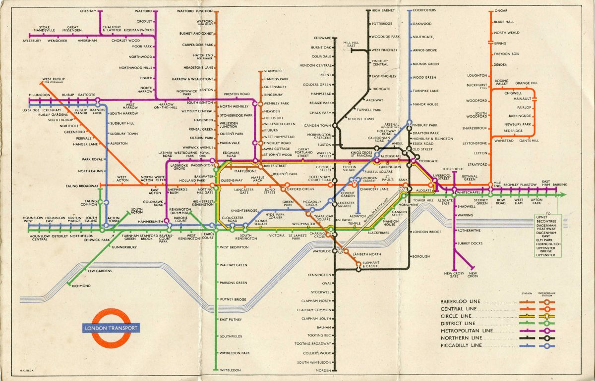 1951 Tube Map